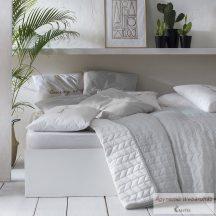 Ágytakaró Simply Light Grey & White 200 x 220