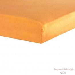 Jersey gumis lepedő narancs 90-100/190-200