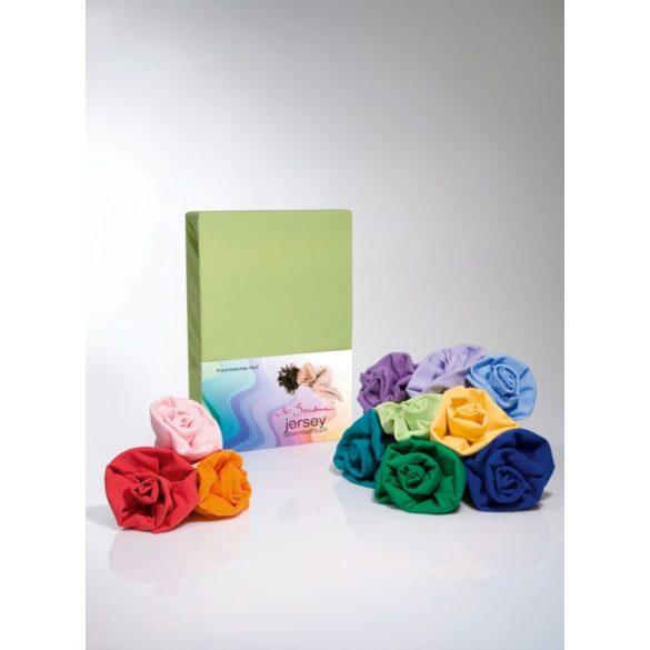 Jersey gumis lepedő rózsaszín 180-200/190-200