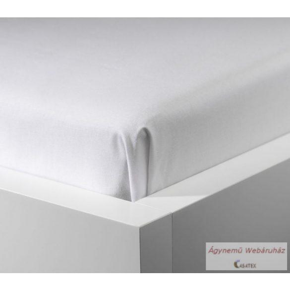 Jersey gumis lepedő fehér 90-100/190-200