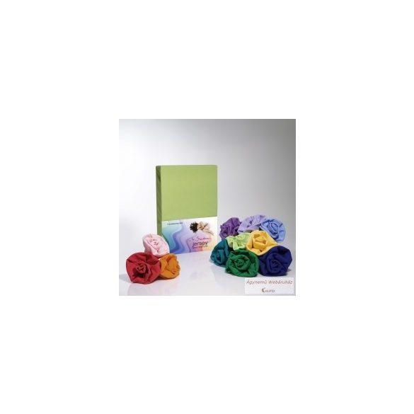 Jersey gumis lepedő kivi 180-200 x 190-200 basic