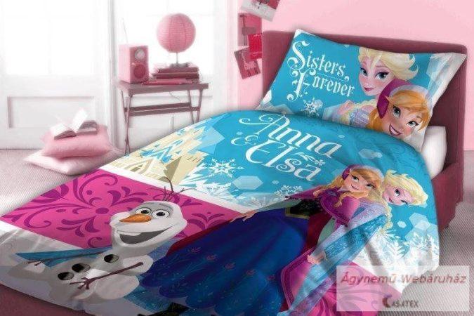 Gyerek ágynemű Disney Frozen, Jégvarázs 140×200cm