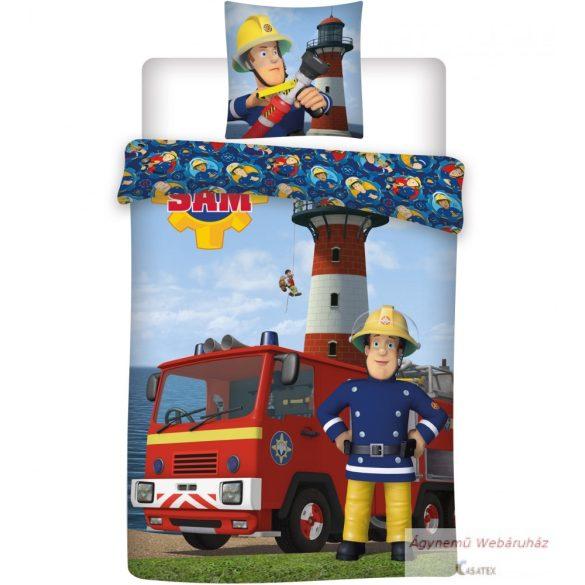 Disney ágyneműhuzat garnitúra Sam a tűzoltó