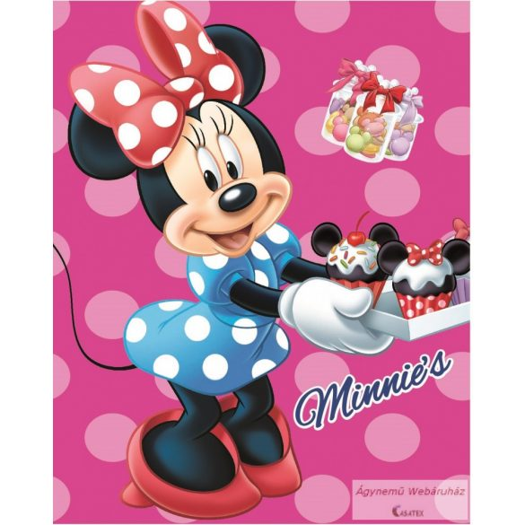 Polár takaró Minnie egeres 120*150