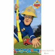 Fireman Sam, Sam a tűzoltó fürdőlepedő, strand törölköző 70*140cm
