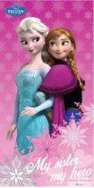 Disney Frozen, Jégvarázs fürdőlepedő, strand törölköző 70*140cm