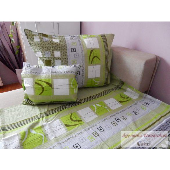 Krepp ágynemű garnitúra zöld fresh