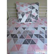 Krepp ágynemű garnitúra pink diamond