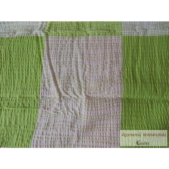 Krepp ágynemű garnitúra halvány zöld