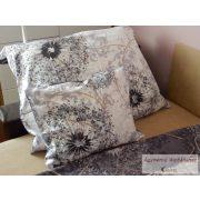 Pamut szatén kétoldalas bordó-szürke ágyneműhuzat garnitúra