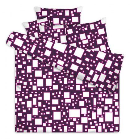 Pamut-polieszter-5-reszes-agynemu-huzat-garnitura-extra-meret-lila