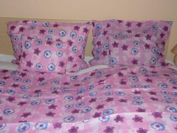 Pamut-poliészter 5 részes ágynemű huzat garnitúra – extra méret