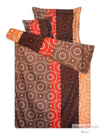 Pamut szatén ágyneműhuzat garnitúra körös