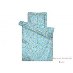Gyerek paplan-párna garnitúra kék állatos
