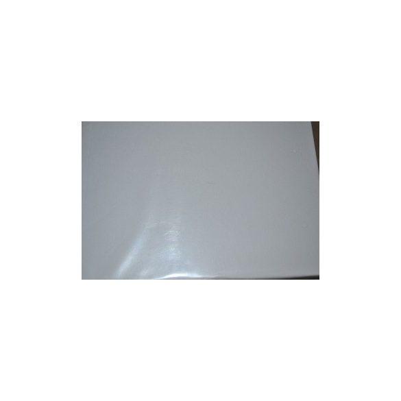 Jersey gumis lepedő fehér 180x200