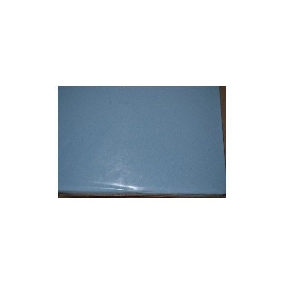 Jersey gumis lepedő kék 90x200