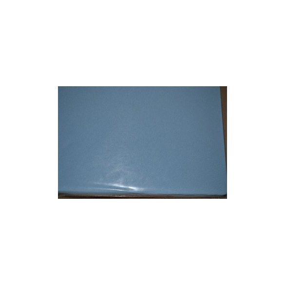 Jersey gumis lepedő kék 160x200