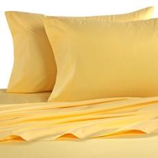 Vászon lepedő sárga 150x240