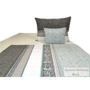 Pamut vászon ágyneműhuzat garnitúra barokk mintás