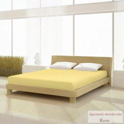 Jersey gumis lepedő sárga 180-200 x 190-200 basic