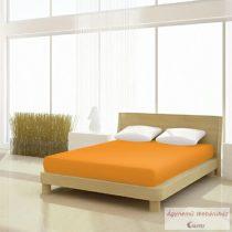 Jersey gumis lepedő narancssárga 140-160 x 190-200 basic