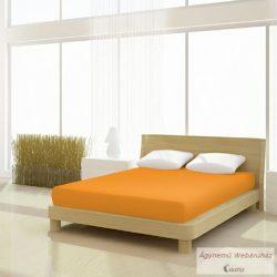 Jersey gumis lepedő narancssárga 90-100 x 190-200 basic