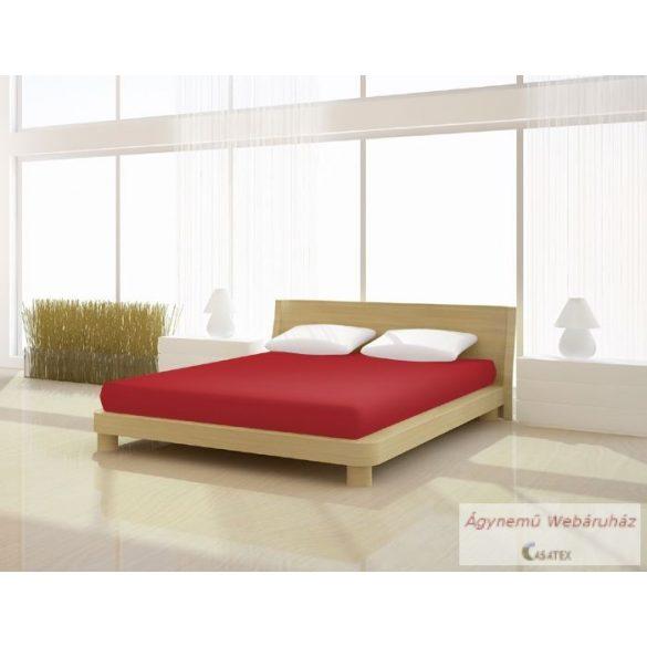 Jersey gumis lepedő piros 90-100 x 190-200 basic