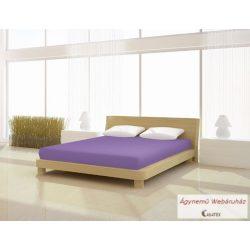 Jersey gumis lepedő lila 180-200 x 190-200 basic
