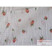 Krepp ágynemű garnitúra apró rózsás